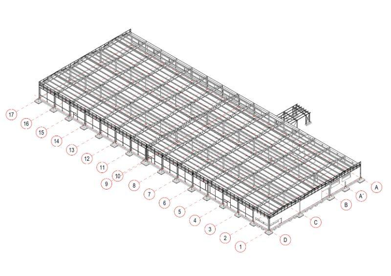 Proizvodni pogon_betonska i čelična konstrukcija_OMCO doo